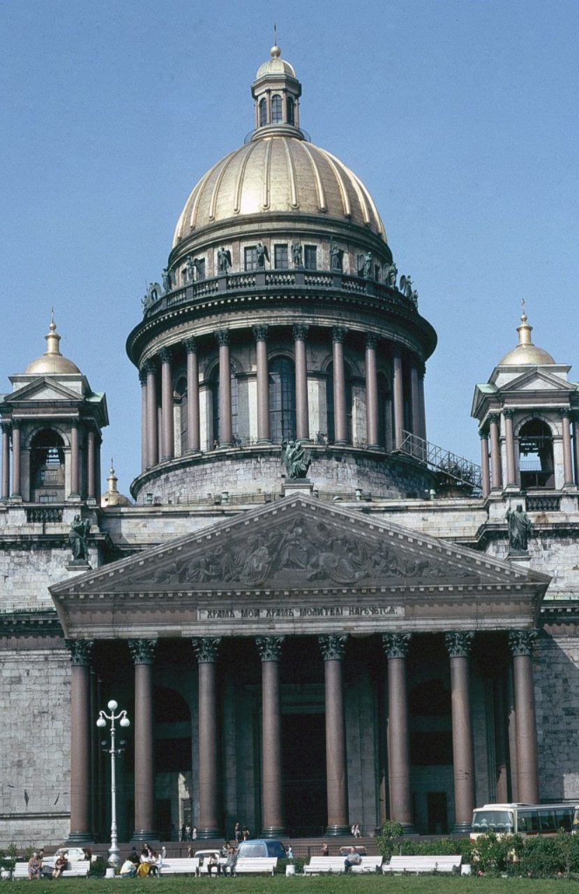 Figure 8. St. Isaac's Cathedral, St. Petersburg, Russia (Loth)