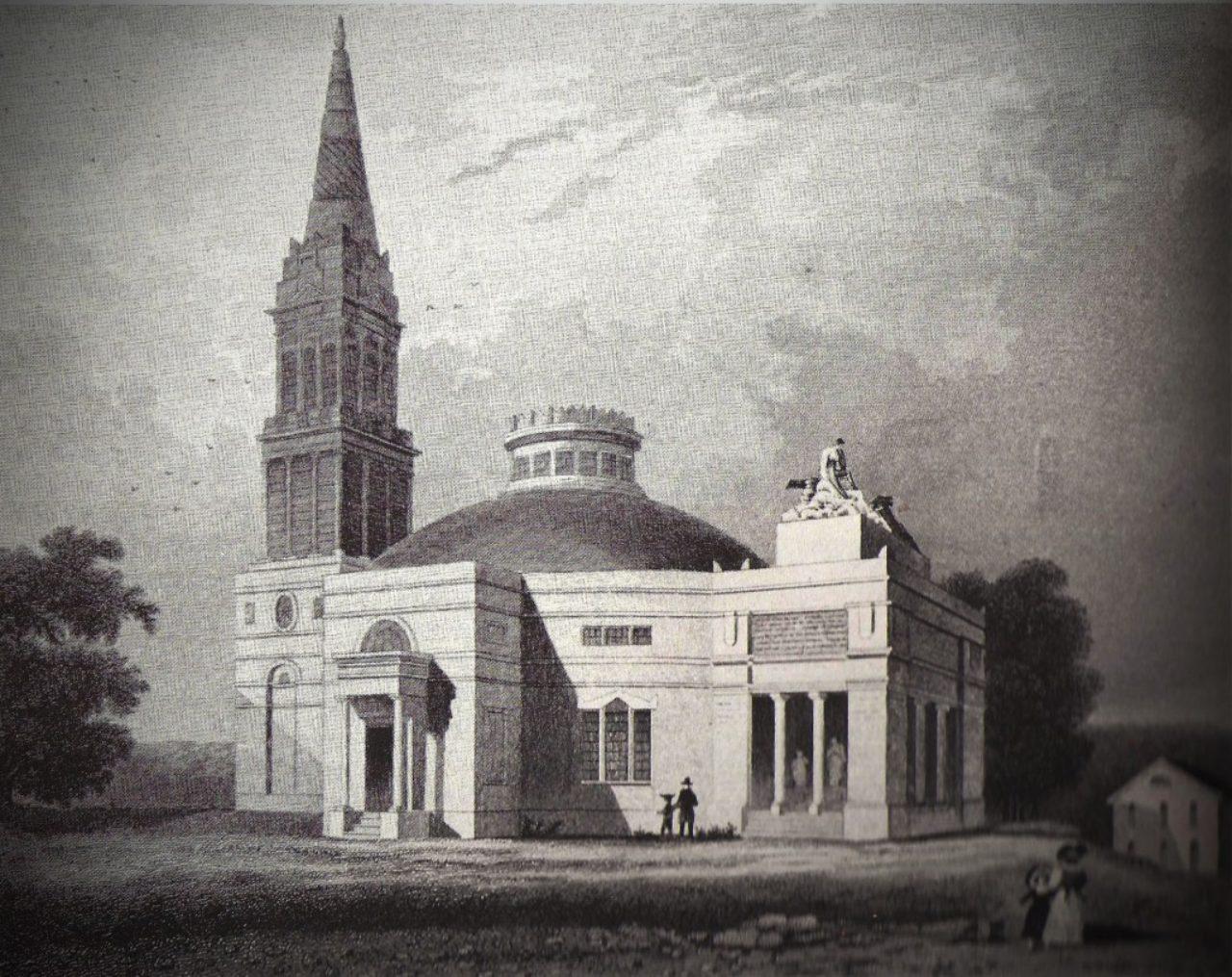Monumental Church engraving