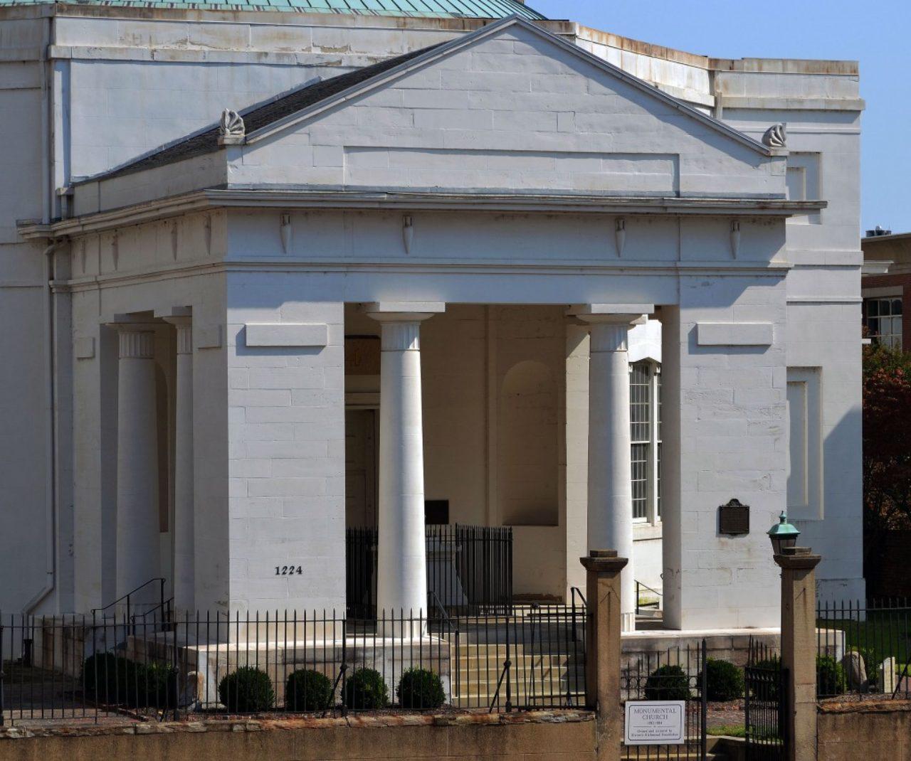 Figure 3. Monumental Church portico (Loth)