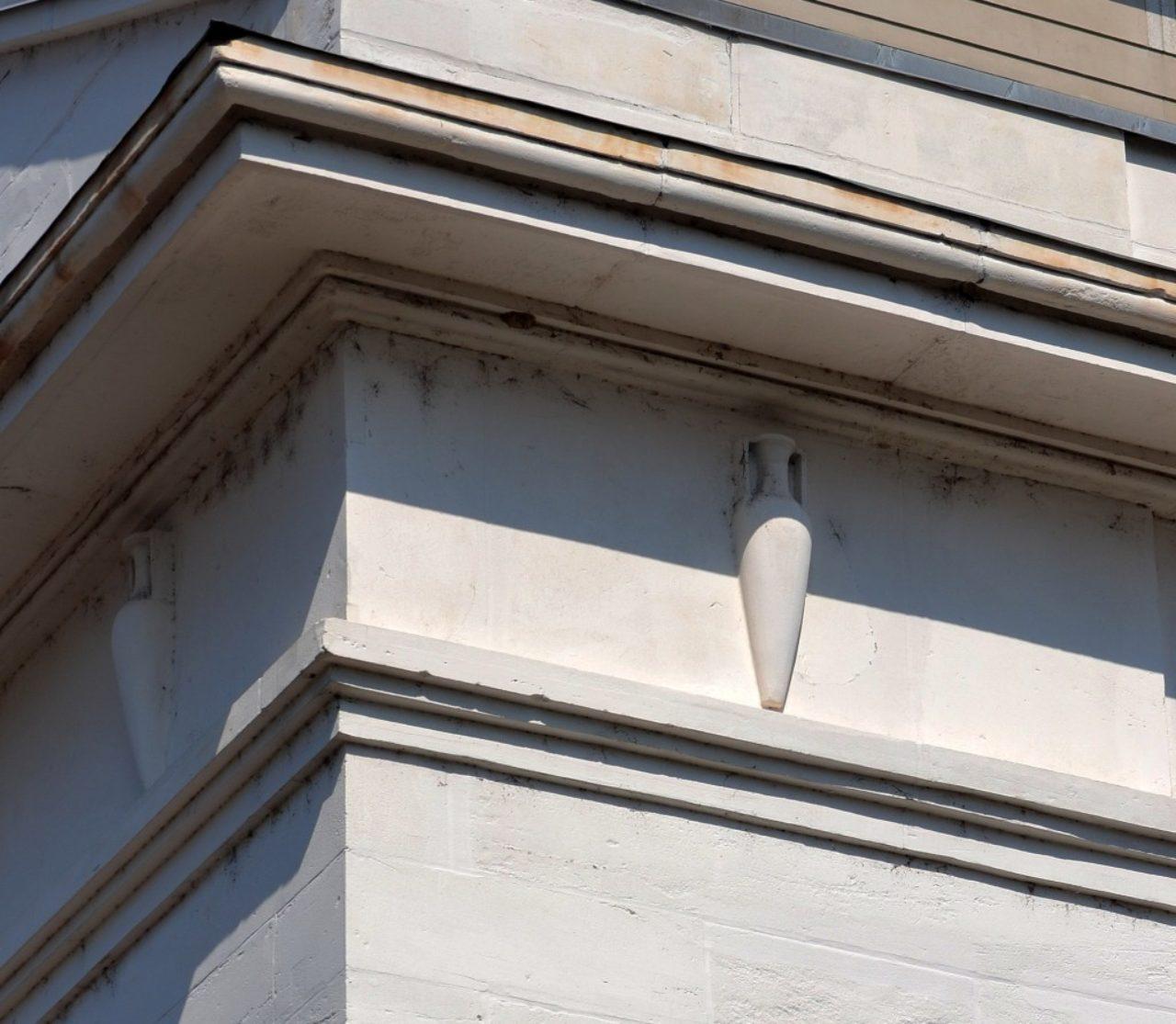 Figure 6. Portico frieze detail, Monumental Church (Loth)