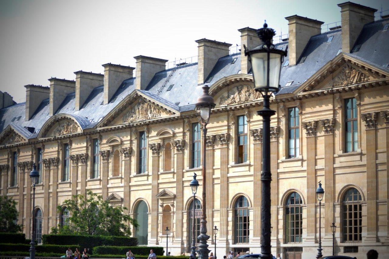 Figure 13. Aile Napoleon, Louvre, Paris (Loth)
