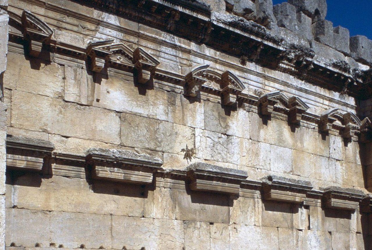 Figure 2. Great Court side wall, Baalbek, Lebanon (Loth)