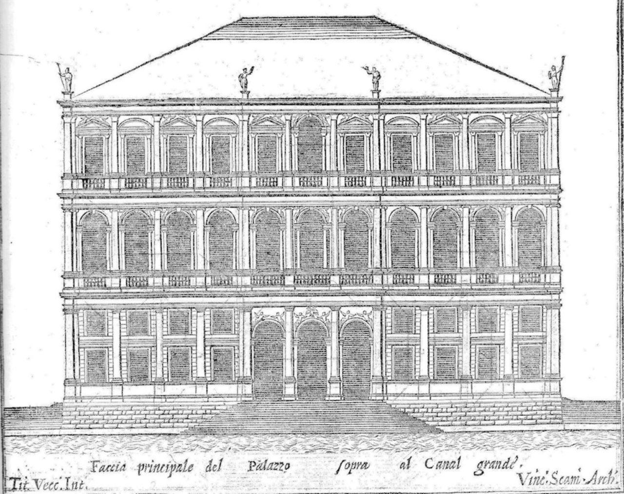 Figure 5. Design for Palazzo Cornaro