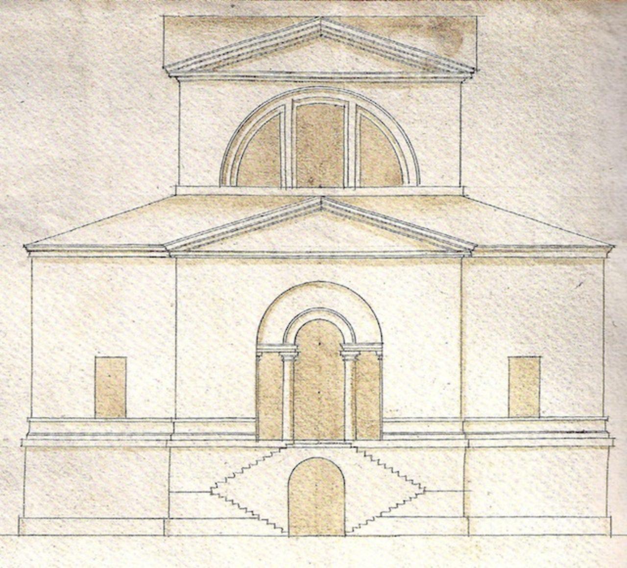 Design for the Villa Pisani at Bagnolo