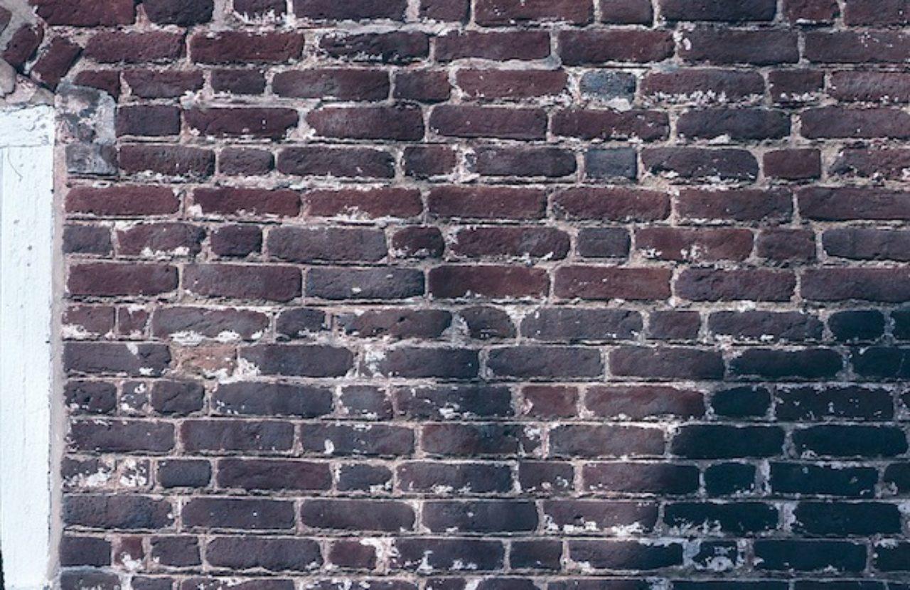 Foster's Castle brickwork