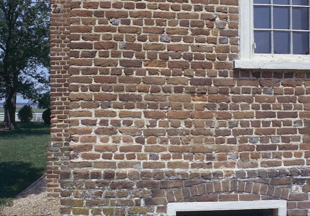 Bacon's Castle brickwork