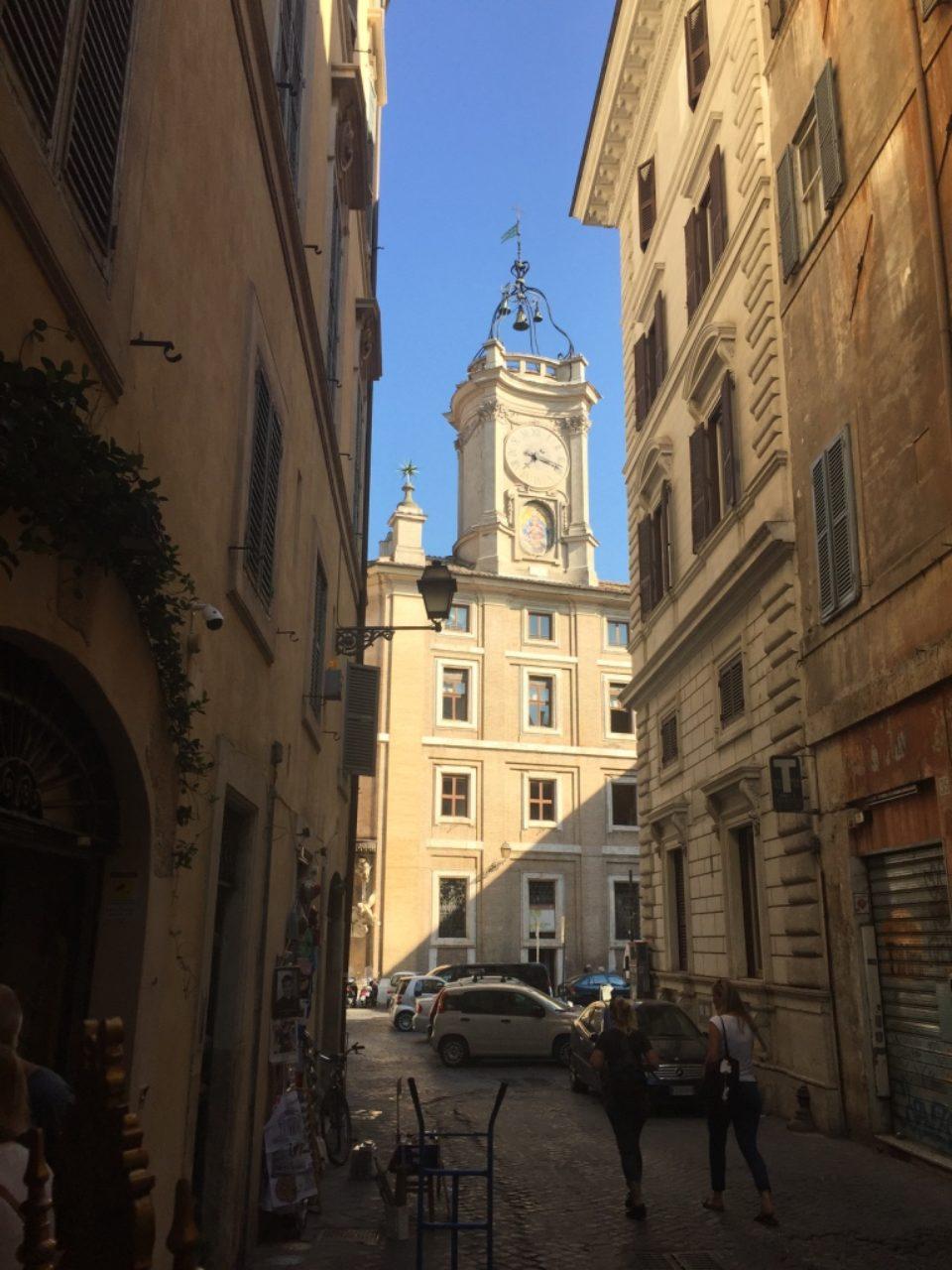 Piazza del'Orologio