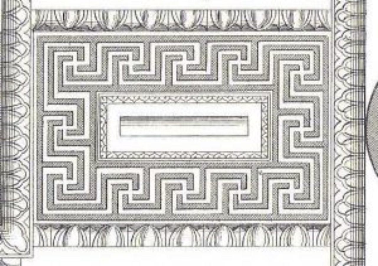 Figure 6: Soffit, Temple of Mars Ultor: Andrea Palladio, I Quattro Libri dell'Architettura, Book IV, Chapter VII, p. 21 (detail)