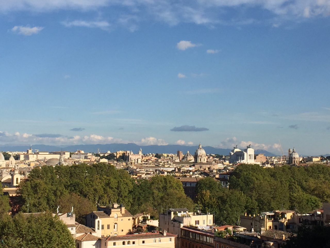 Rome from the Janiculum