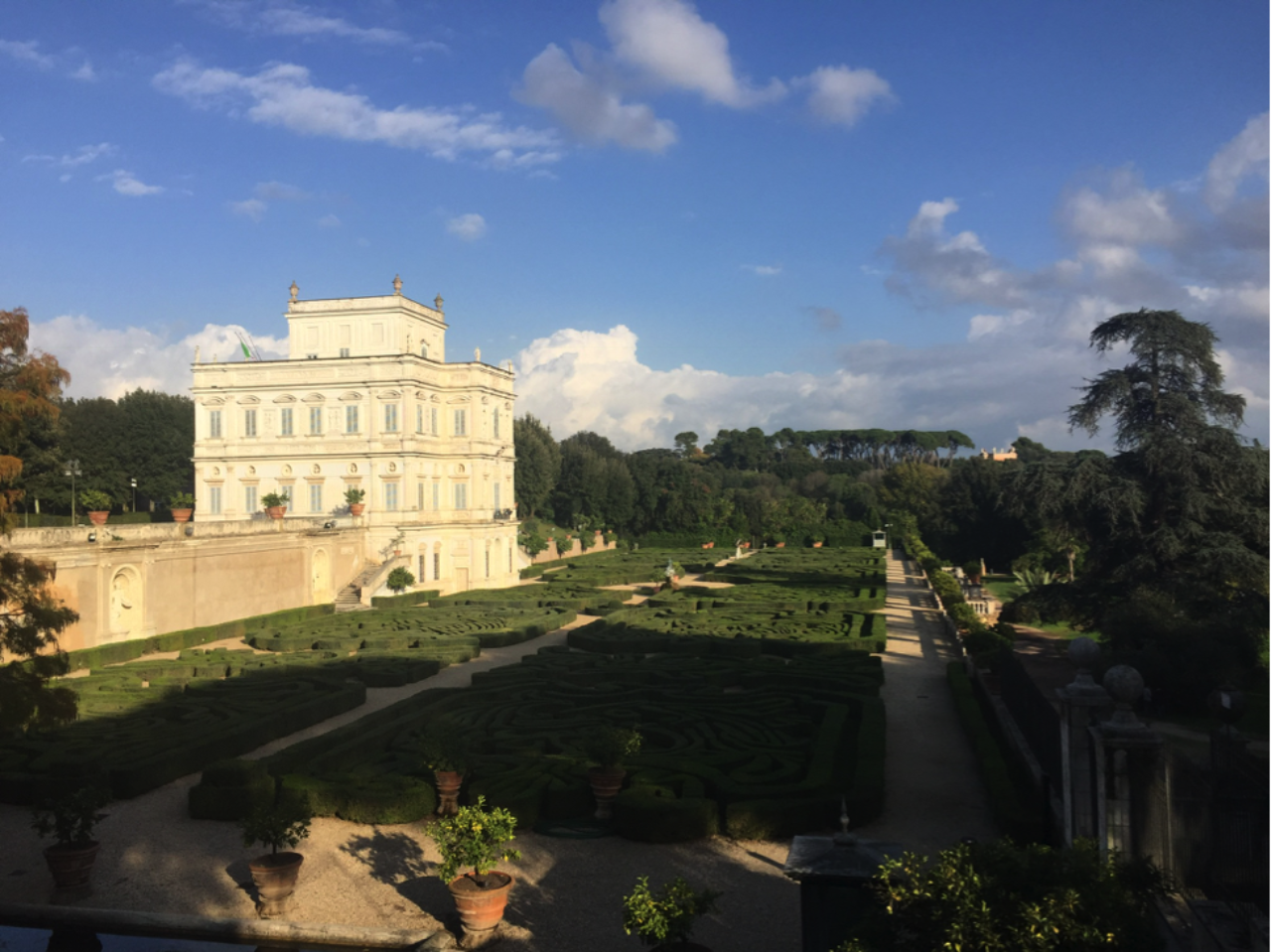 Villa Doria Pamphili and gardens